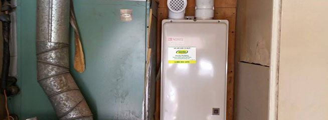 Tankless is easy maintenance
