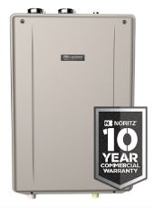 Noritz tankless water heaters 25 year warranty rebates and tax credits