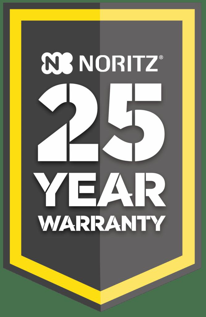 Noritz 25 Year Warranty